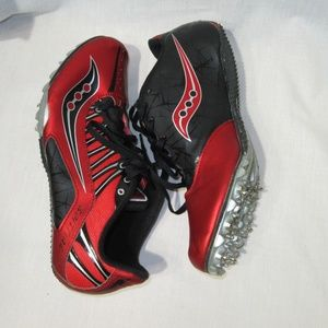 Saucony Spitfire Racing Spikes Track Cleats